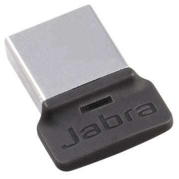 Jabra 14208-08 MS Plug-and-Play Mini USB-Adapter Schwarz/Silber