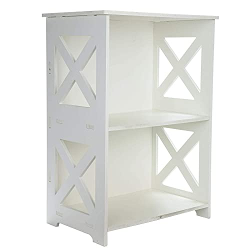 Bedside Table Drawer Cabinet Small Side End Table Nightstand Storage Organizer Home
