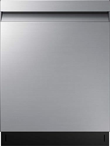 Samsung DW7500 DW60R7070US/EG Teilintegrierter Einbau-Geschirrspüler/Breite 59,8 cm / 14 Maßgedecke/A+++ / Automatische Türöffnung/Weinglashalter/Leise-Funktion/Silber