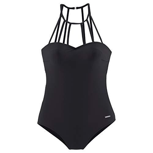 LASCANA Bruno Banani LM CB Swimsuit C/D Black - 38C/D