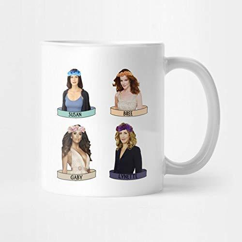 """Tasse mit Aufschrift \""""Desperate Housewives of New York\"""", 4 Frauen, Geschenk"""