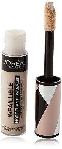 L'Oréal Paris Infaillible More Than Concealer Nr. 320 Porcelain hochpigmentierter Concealer, extra großer Applikator, langanhaltend, 11 ml