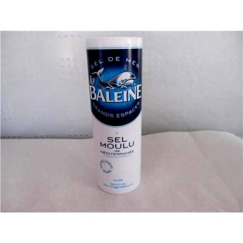 Sel de Mer La Baleine Salz Meersalz fein 250 g Dosierdose