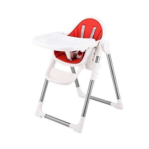 ALXLX baby hoge stoel - converteerbare moderne kinderstoel met gordel en dubbele lade - verstelbare voeding hoge stoel voor baby/baby/peuter/peuter