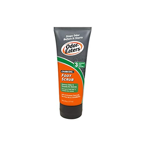 Odor Eaters Charcoal Foot Scrub 6 oz (Pack of 2)