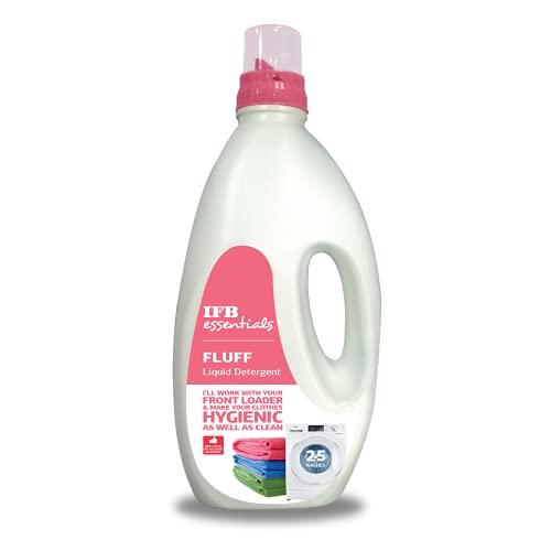 IFB Essentials Fluff Front Load Fabric Liquid Detergent - 1 liters