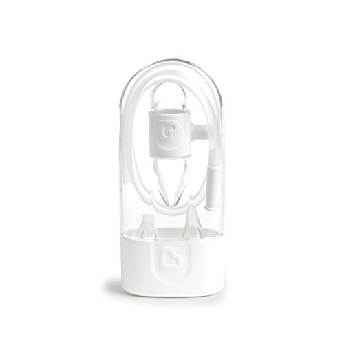 Munchkin Clear Nose Baby Nasal Aspirator, Hygienic Snot Sucker for Stuffy Noses