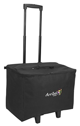 Review Of Arriba Padded Multi Purpose Case Acr-19 Bottom Rolling Stackable Case Dims 19X12X14 Inches