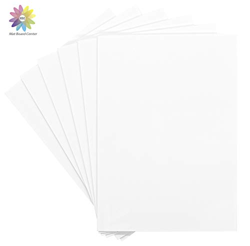 Mat Board Center, Pack of 10 Foam Boards, 11x14 inch (Many Sizes Available) 1/8