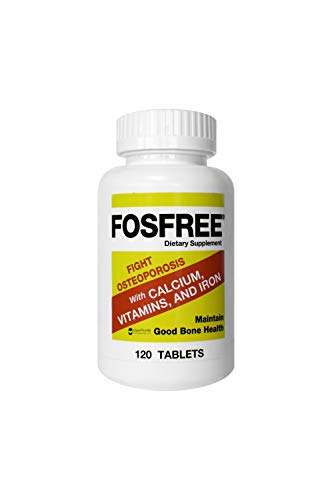 Fosfree Tablets, 120 Count