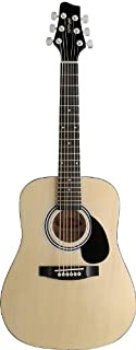 Stagg SW201 1/2 N Dreadnought 1/2 Size Acoustic Guitar - Natural