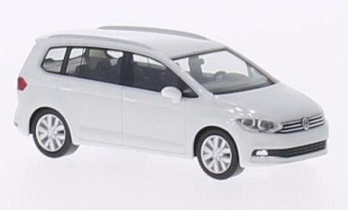 VW Touran II, Weiss, 2015, Modellauto, Fertigmodell, Herpa 1:87