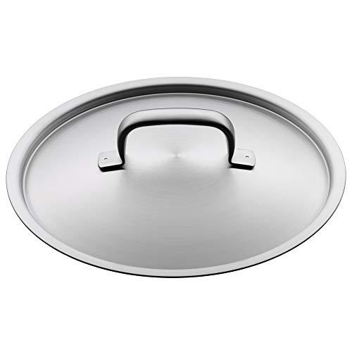 WMF Gourmet Plus Topfdeckel 24 cm, Cromargan Edelstahl mattiert, Metalldeckel, spülmaschinengeeignet