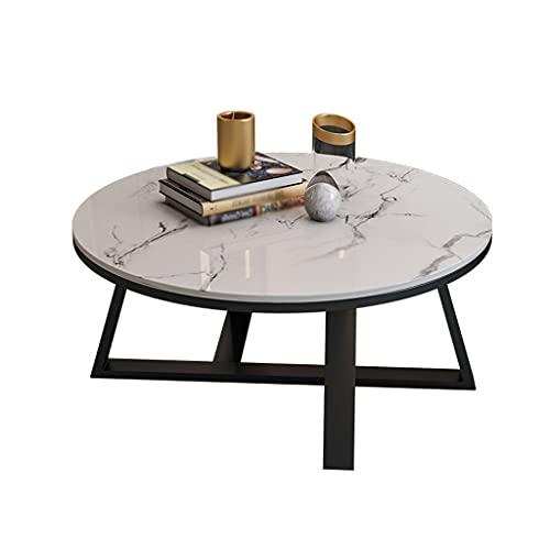 Escritorio de estudio Mesa de café moderno casa sala de estar combinación té té mesa lateral mesa cóctel mesa oficina labrado hierro industrial mesa de té Mesa para dormitorio ( Color : Black )