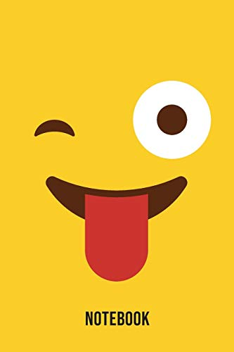 Notebook: Sarcastic Emoji Emoticons Notebook,: Emoticons Notebook For Kids, social media emoticons Journal, Emoticon Face Themed Birthday, Emoji ... Emoji Stuff, 120 Pages, 6x9, Matte Cover.