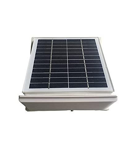 YANGQI yaoqijie 68cfm. Addominali Plastica ESTRATTORE Ventilatore A Parete Solare Φ 10 0mm Adatto per capannoni RV, Serre, furgoni, Case, Lasting