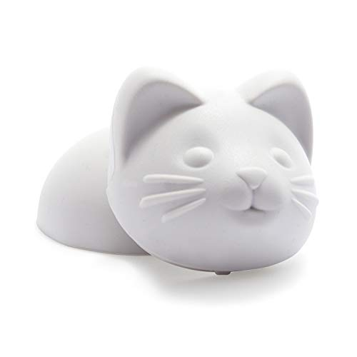 Genuine Fred Cat Ice Mold, Standard, Grey