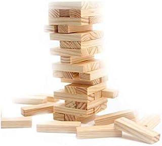 مكعبات بناء خشبية تعليمية للاطفال من جينغا لوجز