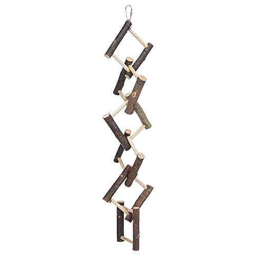 Trixie Natural Living Leiter zum Aufhängen mit 12 Sprossen, 58 cm