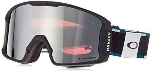 Oakley Line Miner Xm Ski Goggles, Unisex, Erwachsene, Balsam Black/Prizm Black, M