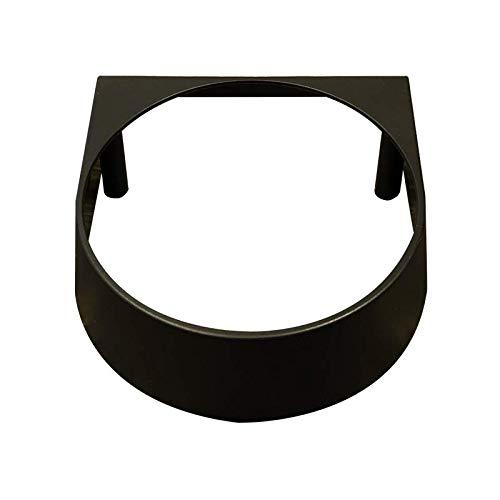 Rancilio Brühgruppenblende Kunststoff schwarz passend für die Rancilio Silvia