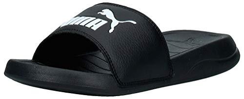 PUMA Unisex Popcat 20 Zapatos de Playa y Piscina, Black White, 43 EU