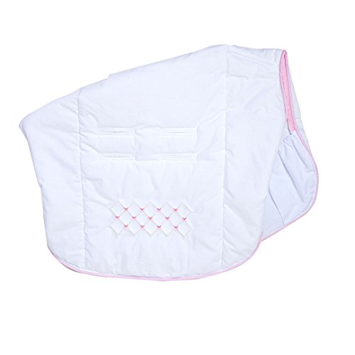 Capa para Bebe conforto e carrinho, Mami, 92cm x 58cm, Papi Textil, Rosa