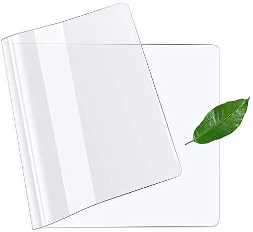Strapazierfähige, transparente Schreibtischunterlage, rutschfest, wasserfest, hitzebeständig, Tischmatte, Schreibtischunterlage, glattes Mauspad, 60 x 120 cm