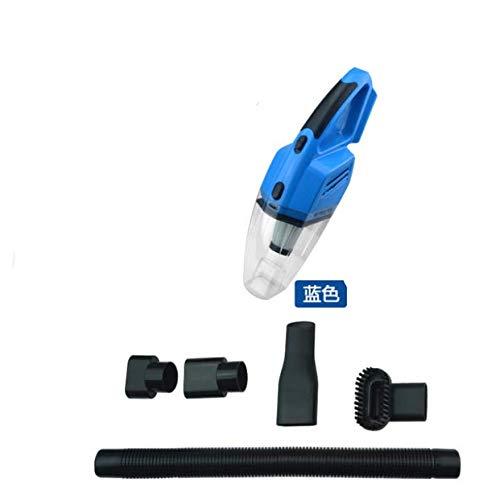 LNLZ Aspirateur portatif à Double Usage, Voiture, Sec et Humide, Double Usage, Super 120 Watts, Bleu, câblé