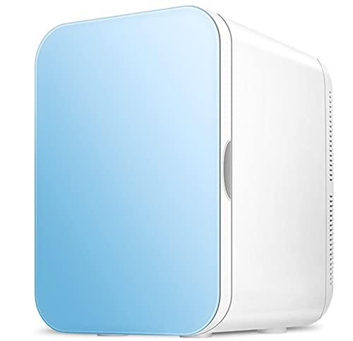Mini Refrigerador De 20 litros/Portátil con Sistema Termoeléctrico De CA/CC, Enfriador Y Calentador para Automóviles, Hogares, Oficinas Y Dormitorios,Azul
