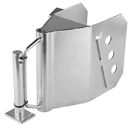 Deichselschloss | Taschen-Modell | verzinkter Stahl | Anhängerkupplung | Anhängetechnik | Anhängekupplungen | mit Prüfzeichen | Diebstahl | Schloss | Anhängerschloss