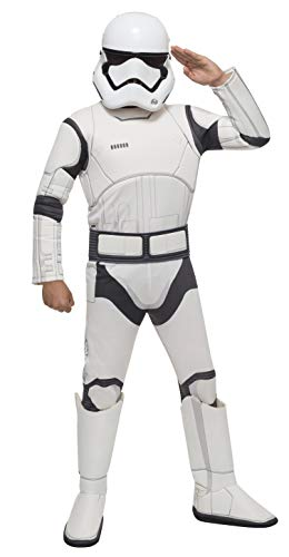 Star Wars VII: The Force Awakens Deluxe Child's Stormtrooper Costume and Mask, Small