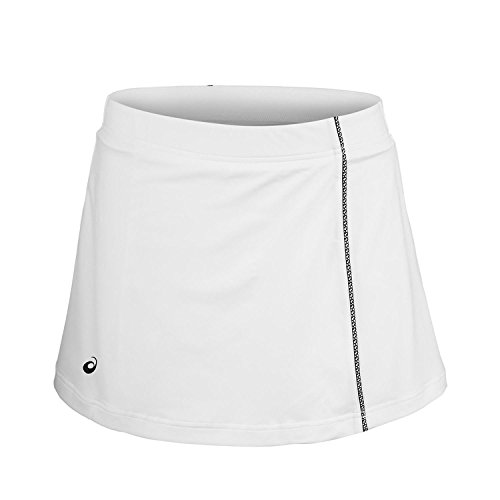 Asics Mujer Falda Blanca Negro L Ropa Exterior L