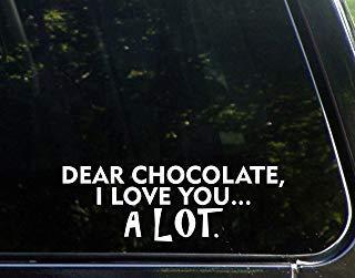 Beste Chocolade, Ik hou van je. Veel (9