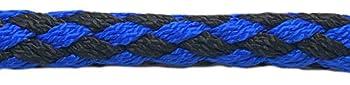 Elropet Hawaii Laisse double réglable sur 4 positions Bleu/noir 2,8m