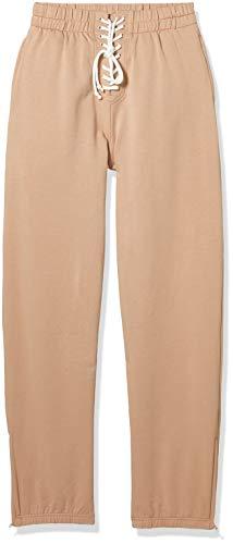 PUMA Fenty Front Allacciatura Pantaloni tuta da donna - marrone - XS