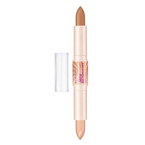 Rimmel Insta Contour Duo Stick, Light, 0.28 Ounce