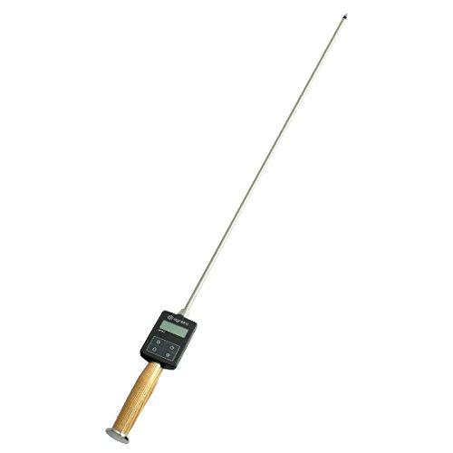 AGRETO HFM II, Sondenlänge 100 cm, Heufeuchtemesser, Strohfeuchtemesser, professionelles Messgerät, Feuchtigkeitsmessgerät, extrem robust, Kontrolle von Heu und Stroh, 5 Jahre Herstellergarantie