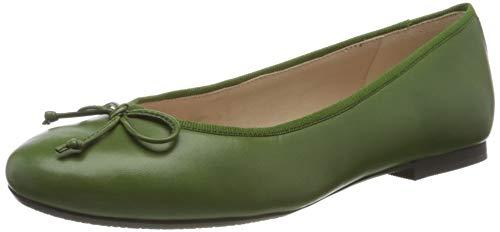 Gerry Weber Shoes Damen Prag 01 Geschlossene Ballerinas, Grün (Grün 600), 41 EU