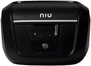 NIU Roller Top Case - Maletín con portaequipajes, Color Negro