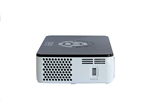 AAXA Technologies P300 Pico Projector with Rechargeable Battery - Native HD resolution with 500 LED Lumens, For Business, Home Theater, Travel and more (KP-600-01) Photo #2