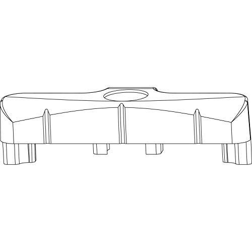 MACO Schließteil Standard PVC 12/20-13, ALUPLAST/REHAU/SALAMANDER, silber(34666)