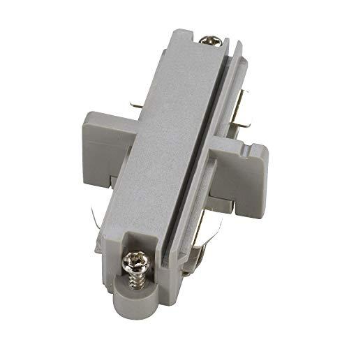 SLV 1 Phasen System Längsverbinder für 1-Phasen HV-Stromschiene / grau