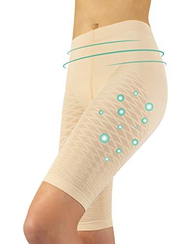 Calzitaly Guaina Anticellulite Guaina Contenita E Modellante Pantaloncino Modellante Anticellulite Effetto Massaggio Benessere Vita Salute