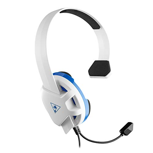 Turtle Beach Recon Chat Auriculares Gaming PS4,  PS5,  Xbox One,  Nintendo Switch y PC,  Blanco