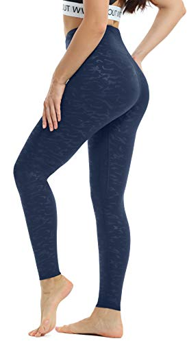 Persit Women's Formulate Emboss Camo Yoga Pants with Pockets