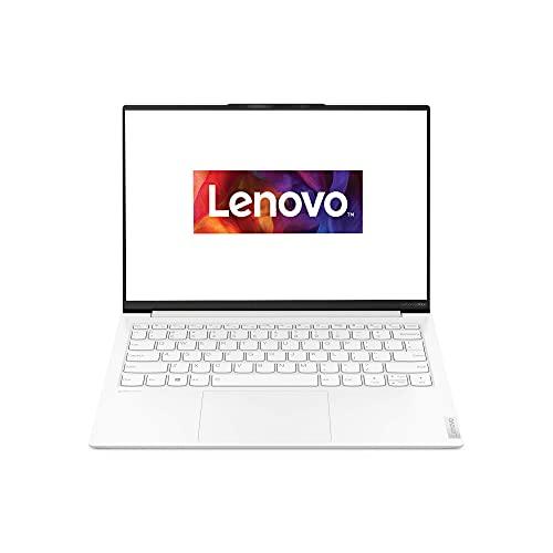 Lenovo Yoga Slim 7i Carbon 33,8 cm (13,3 Zoll, 2560x1600, QHD, WideView, entspiegelt) EVO Slim Notebook (Intel Core i7-1165G7, 16GB RAM, 512GB SSD, Intel Iris Xe Grafik, Windows 10 Home) weiß