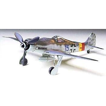 タミヤ 1/72 ウォーバードコレクション No.51 ドイツ空軍 フォッケウルフ Fw190 D-9 プラモデル 60751
