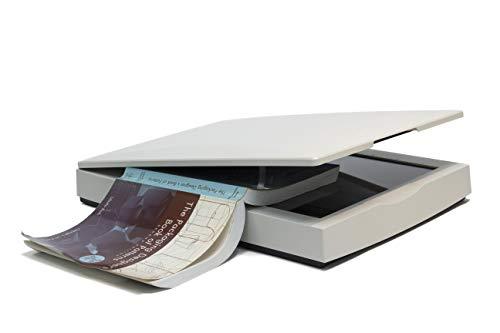 Mustek 2400SW Flachbettscanner DIN-A3.Max. Auflösung 2400x2400 DPI. inkl. Software für Windows & Mac