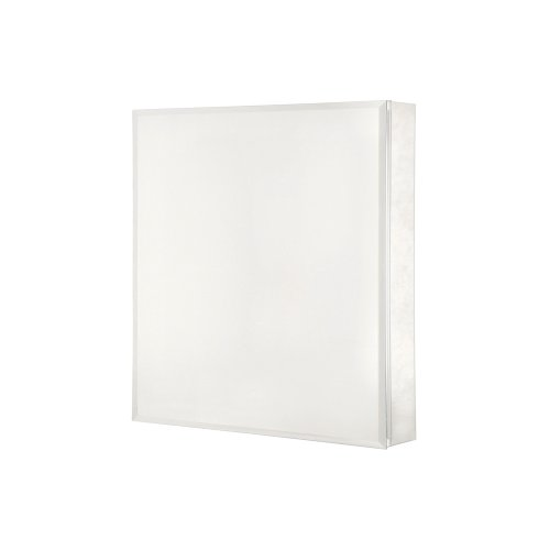 Pegasus SP4581 26-Inch by 20-Inch Surface or Recessed Mount Beveled Mirror Medicine Cabinet,...